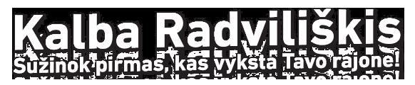 Kalba Radviliškis